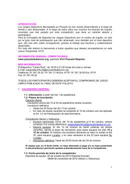 3- Normativa y reglamento JDM 2014-15