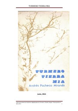 TURMERO TIERRA MIA - turmero para siempre