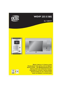 WEVP 255 E BIS