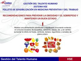 Gestión del Talento Humano HSE