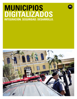 MUNICIPIOS DIGITALIZADOS