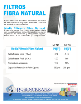Folleto Rosenckranz FIBRA NATURAL 2012.FH10