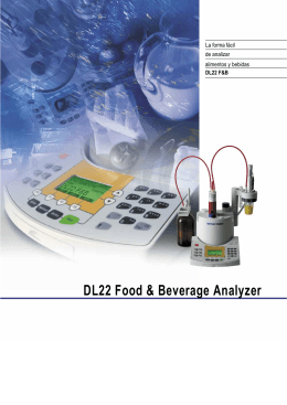 DL22 Food & Beverage Analyzer