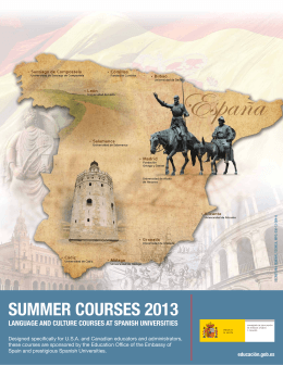 LANGUAGE AND CULTURE COURSES AT SPANISH UNIVERSITIES