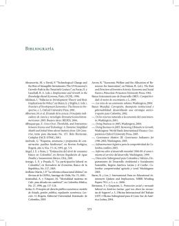 Bibliografía - Ministerio de Educación Nacional