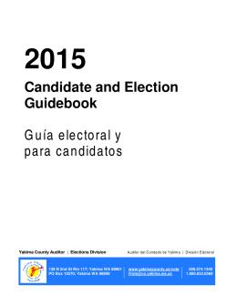 Guía electoral y para candidatos