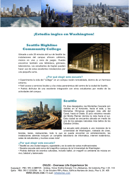 ¡Estudia ingles en Washington! Seattle Highline