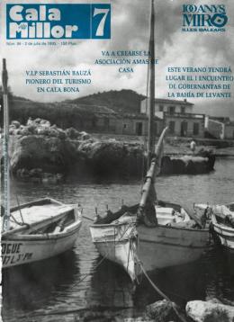 VXP SEBASTIAN BAUZA PIONERO DEL TURISMO EN CALA