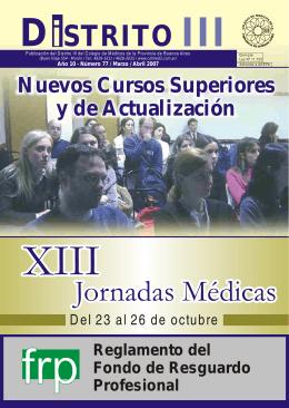 Boletín Nº 77 - Colegio de Medicos Distrito III