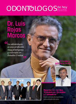 Dr. Luis Rojas Marcos