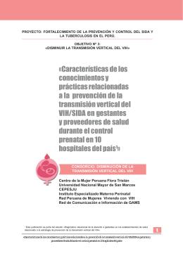 INFORME VIH-TRANSMISION VERTICAL ULTIMO