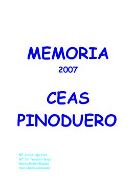 DEFINITIVO MEMORIA 2007 PINODUERO