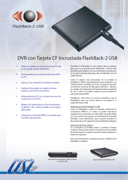 FlashBack-2 USB Folleto PDF