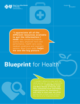 Blueprint for Health®