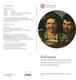 Folleto en PDF - Fundación Amigos del Museo del Prado