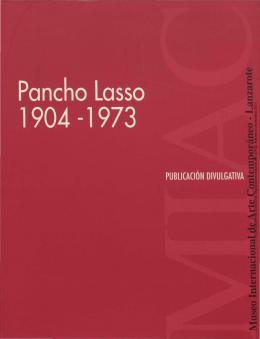 Pancho Lasso 1904-1973 - Memoria Digital de Lanzarote