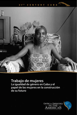 Trabajo de mujeres - Center for Democracy in the Americas