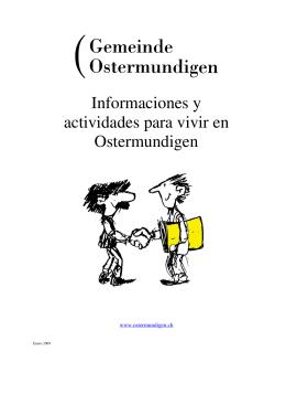 Informaciones y actividades para vivir en Ostermundigen