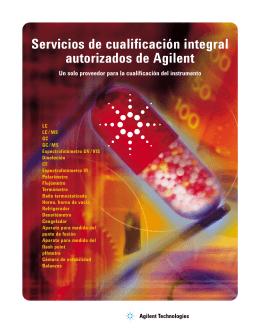 Servicios de cualificación integral autorizados de Agilent