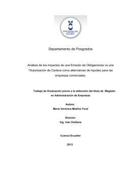 Departamento de Posgrados - DSpace de la Universidad del Azuay