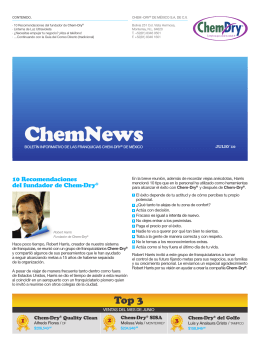 100809 enews julio - Chem-Dry