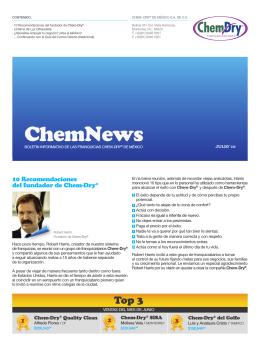 100809 enews julio - Chem-Dry