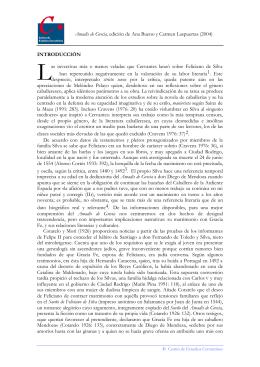 Introducción - Centro de Estudios Cervantinos