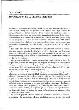 ACTUALIZACION DE LA MEMORIA HISTORICA