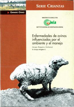 Enfermedades de ovinos influenciadas por el ambiente y el manejo