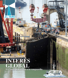INTERÉS GLOBAL - Canal de Panamá