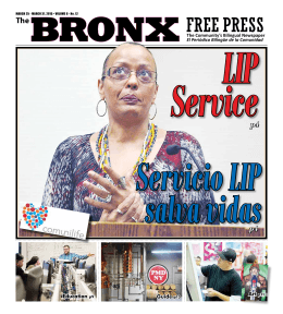 BRONXThe Community`s Bilingual Newspaper