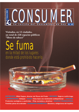 consumer 63 - Revista Consumer