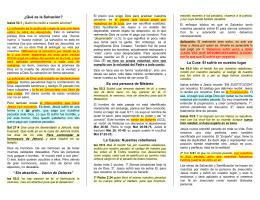 Doct27 Intercambio de Jesus por Nosotros Isa 53