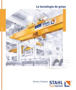 La tecnología de grúas - STAHL CraneSystems GmbH