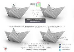 jornada de intercambio y sensibilización 2014