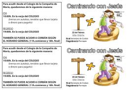 folleto samuel colegio - Colegio Compañía de María