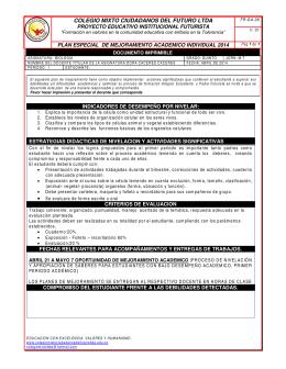 COLEGIO MIXTO CIUDADANOS DEL FUTURO LTDA