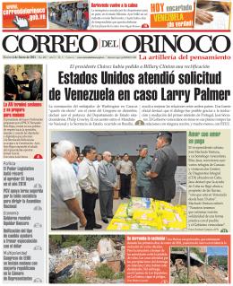 Estados Unidos atendió solicitud de Venezuela en caso Larry Palmer