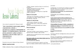 Folleto realizado en base a recopilacion biblografica Graciela Patrone