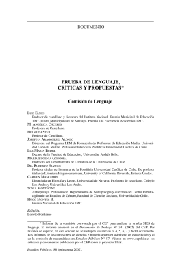 Texto completo en español - Centro de Estudios Públicos