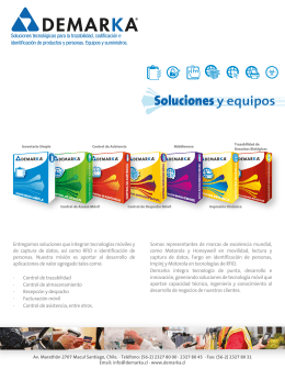 folleto control de asistencia