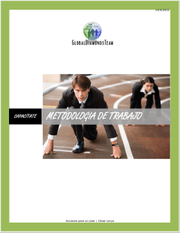 METODOLOGIA DE TRABAJO