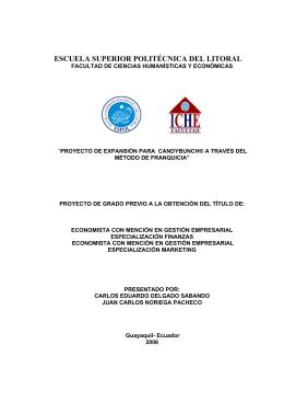 DSpace en ESPOL - Escuela Superior Politécnica del Litoral