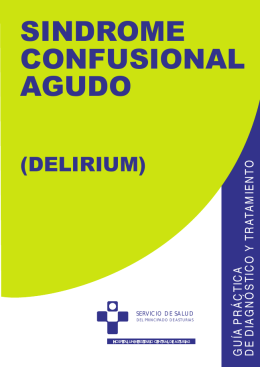 guia sindrome confusional agudo - Hospital Universitario Central de
