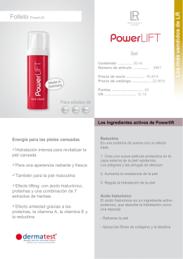 Folleto PowerLift - LR