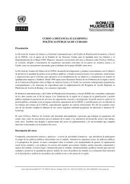 PPC Folleto Curso_2013 - Comisión Económica para América