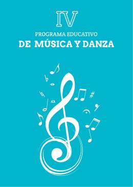 Programa de Música y Danza