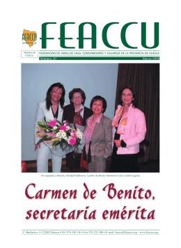 REVISTA FEACCU - HUESCA • Marzo 2006