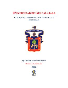 folleto informativo - Departamento de Farmacobiología