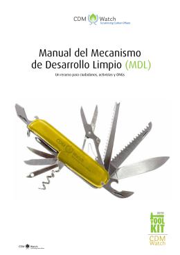 Manual del Mecanismo de Desarrollo Limpio (MDL)